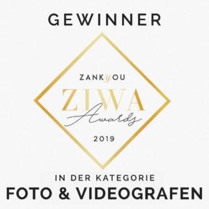 MOKATI hat auch 2019 den ZIWA im Bereich Fotografen und Videografen gewonnen
