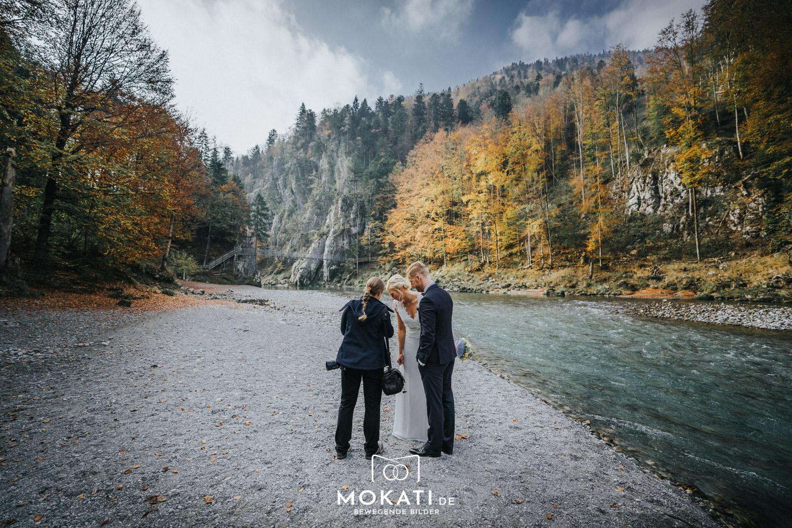 Hochzeitsfotografin Claudia in Schleching