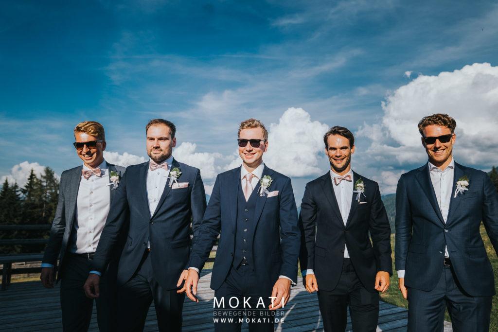 Heiraten auf der Lisa Alm in Flachau mit Hochzeitsfotograf München und Hochzeitsvideograf München