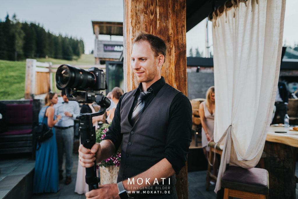 Hochzeitsvideograf München auf der Lisa Alm