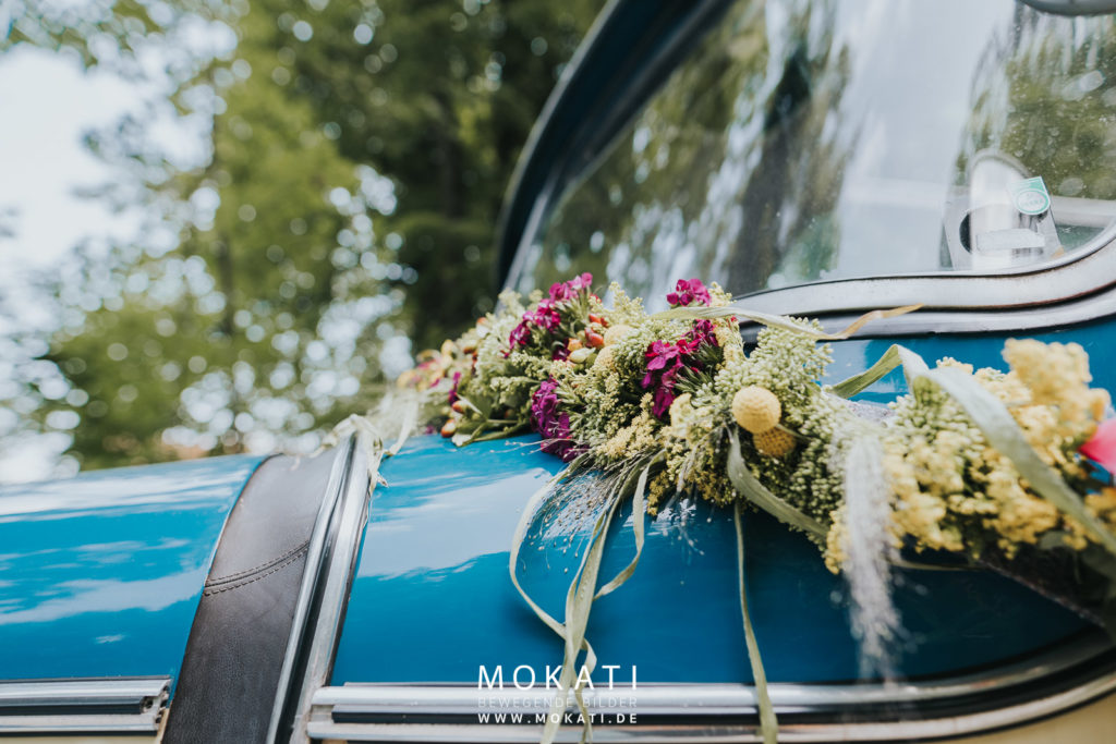 Hochzeitsfotograf am Starnbergersee mit Omibus