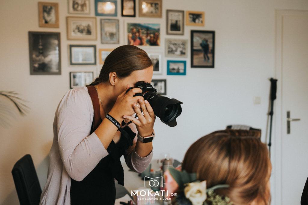 Getting Ready mit Hochzeitsfotografin Claudia