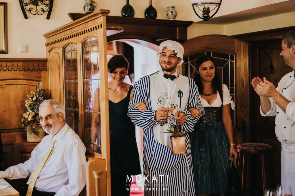 Brautentführung in Ingolstadt mit Hochzeitsfotograf München