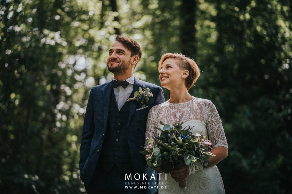 Brautpaarfotos in Ingolstadt mit Hochzeitsfotografin München