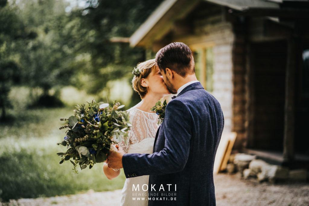 Hochzeitsfotograf München in Ingolstadt mit modernen Brautpaar