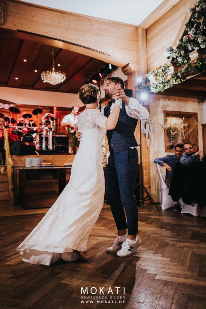Brauttanz mit Hochzeitsfotograf München in Ingolstadt