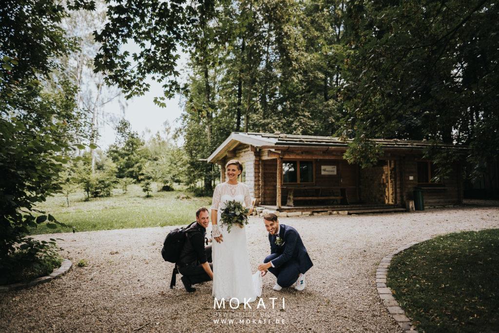 Hochzeitsfotograf München Andy im Einsatz
