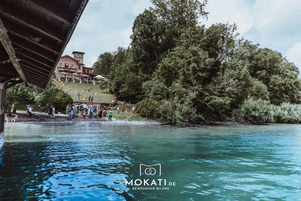 Hochzeitslocation La Villa am Starnberger See - MOKATI Hochzeitsfotograf