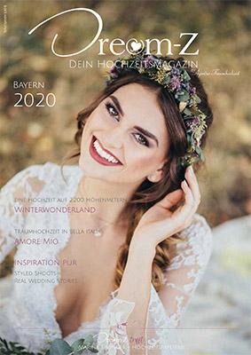 MOKATI im Hochzeitsmagazin DreamZ (das Cover ist NICHT von MOKATI)