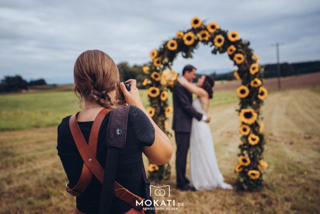 Claudia Hochzeitsfotograf München bei MOKATI Fotos und Film