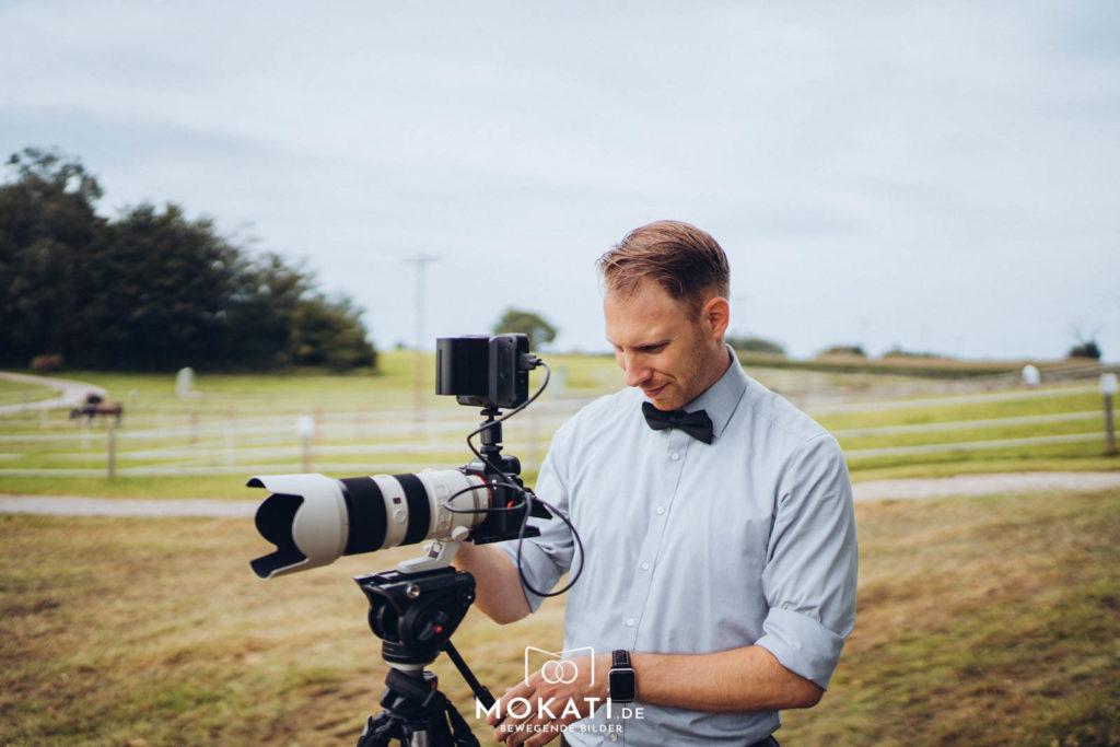Andy Hochzeitsvideograf aus München im Einsatz