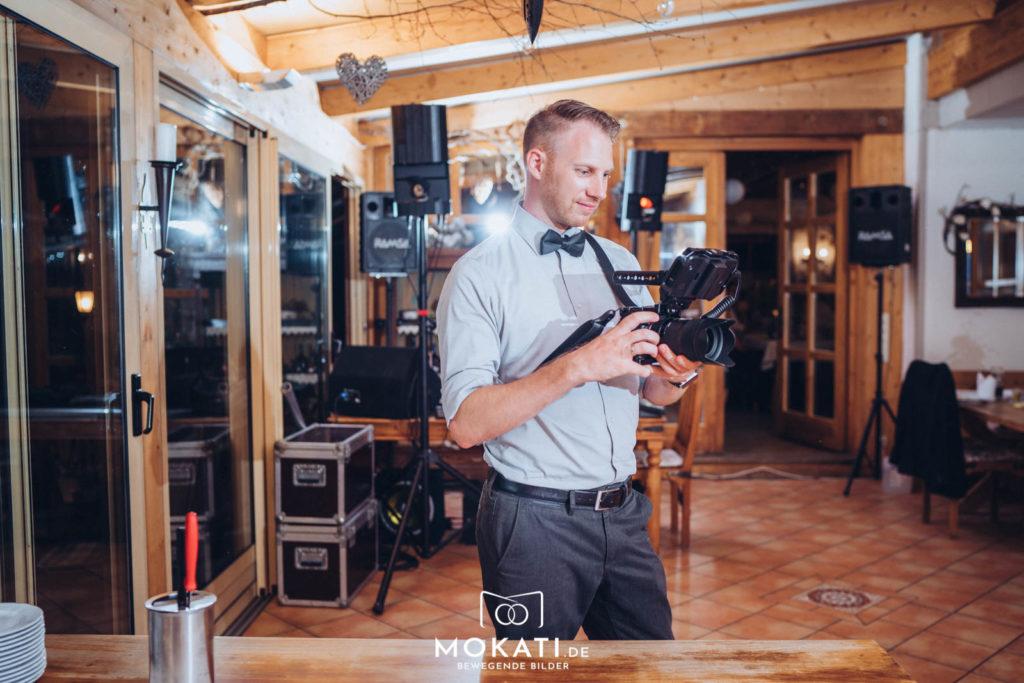 Andy Hochzeitsvideograf aus München von MOKATI Fotos und Film
