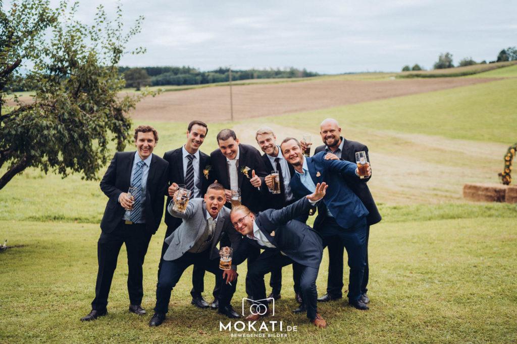 Heiraten in Ebersberg im Landgut Kugleralm mit Hochzeitsvideograf aus München