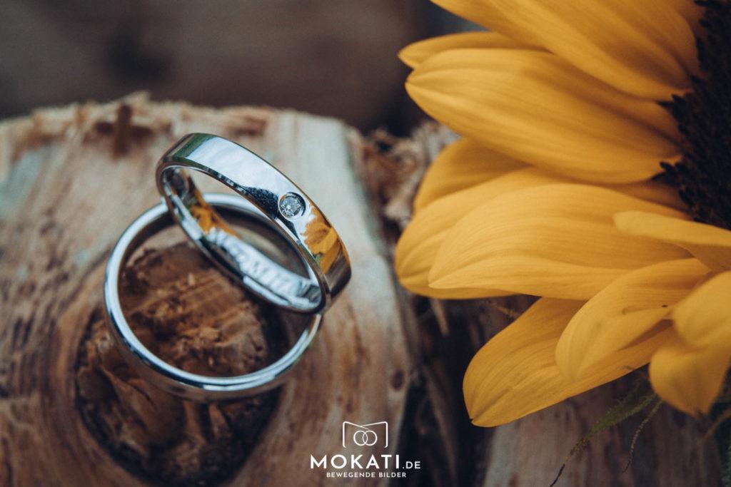 Ringfotos am Hochzeitstag vom Hochzeitsfotografen fotografiert