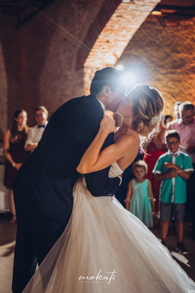 Hochzeitstanz im Fürstenfelder mit Hochzeitsfotograf begleitet