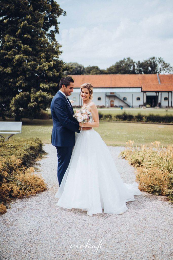 Brautpaarfotos im Fürstenfelder mit Hochzeitsfotograf München