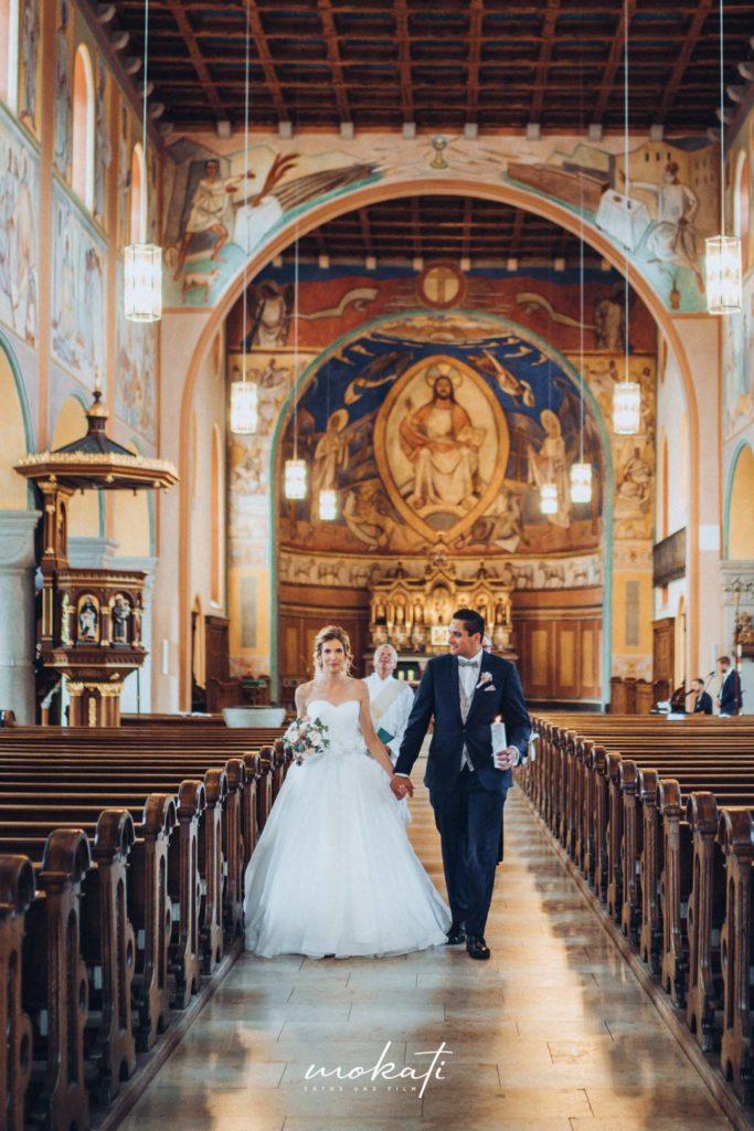 Kirchliche Trauung in Fürstenfeldbruck mit Hochzeitsfotograf München