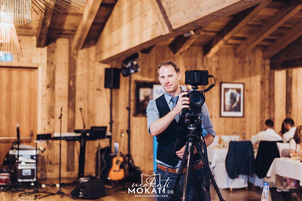 Hochzeitsvideograf München im Gasthof Schmuck Sauerlach