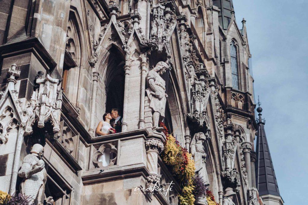 Standesamt München Neues Rathaus mit Hochzeitsfotograf