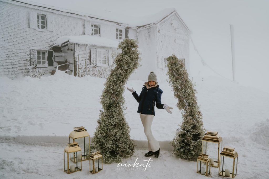 Hochzeitsfotograf München bei einer Winterhochzeit