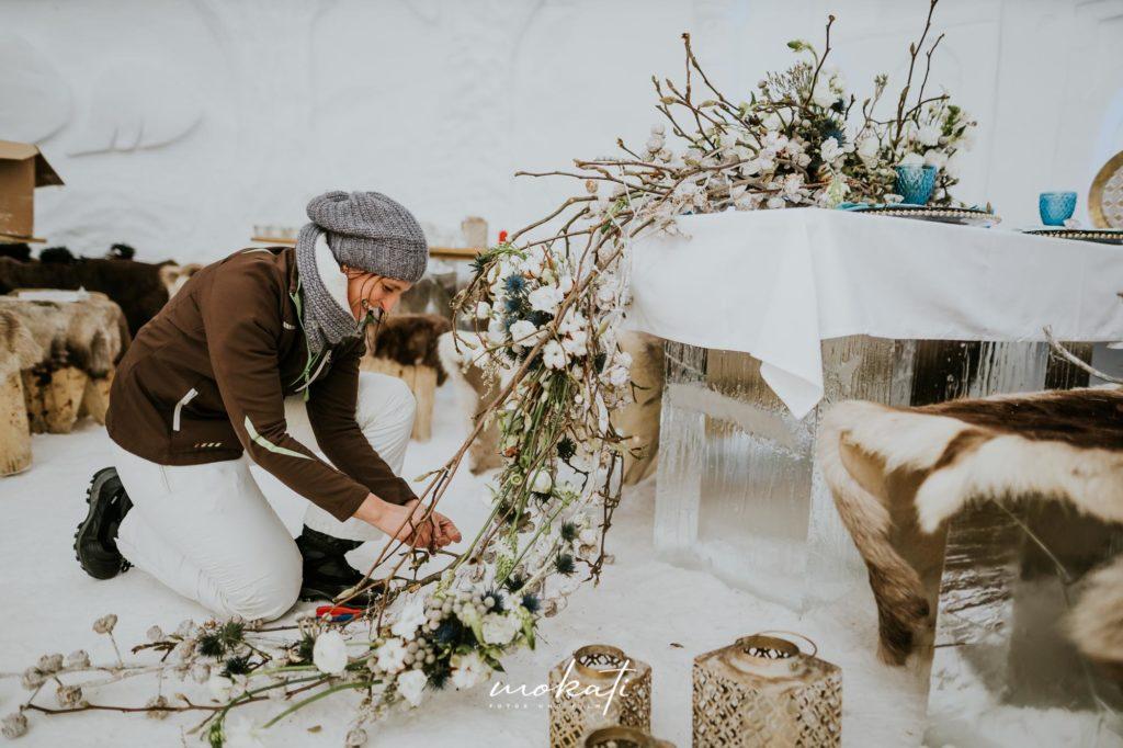 Hochzeitsvideograf München bei einer Winterhochzeit