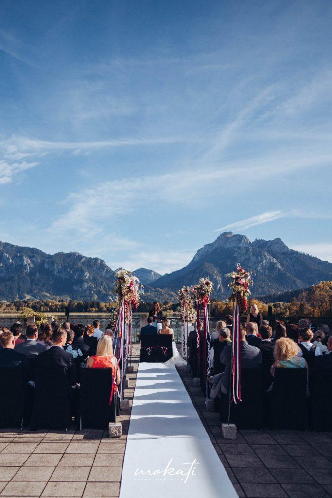 Freie Trauung im Festspielhaus Füssen am Schloss Neuschwanstein