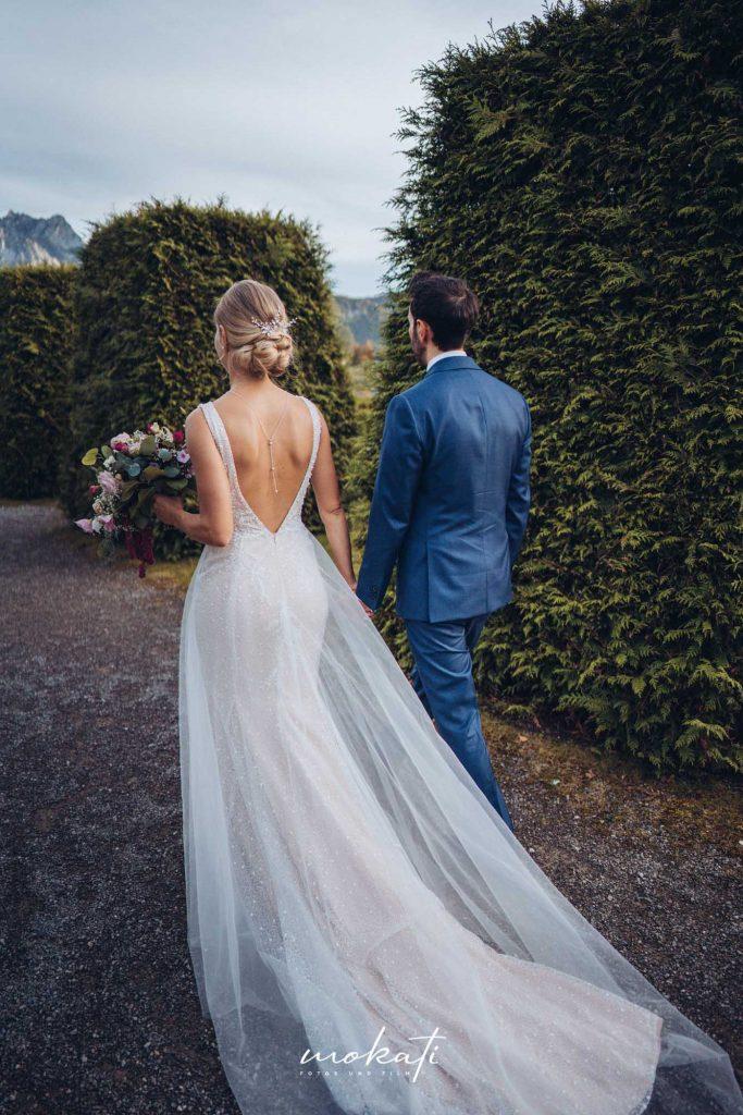 Brautpaarfotos im Festspielhaus Füssen