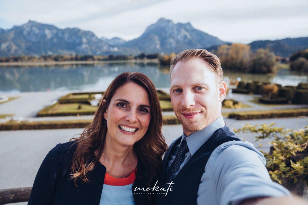 Hochzeitsvideograf und Hochzeitsfotograf München mit Traurednerin Conny Petry