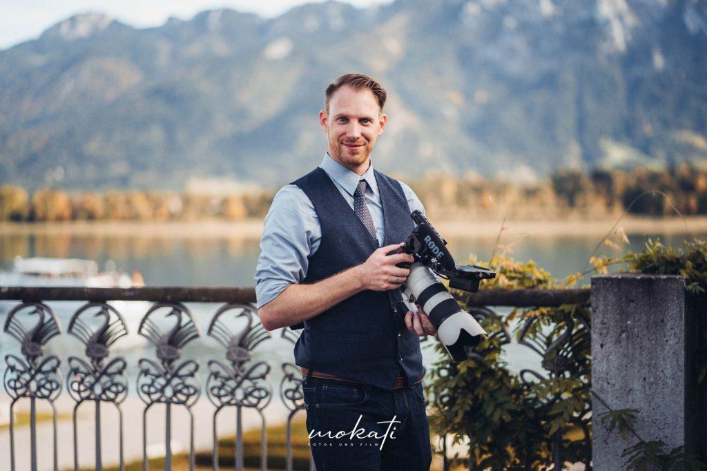 Hochzeitsfotograf und Hochzeitsvideograf München im Festspielhaus Füssen