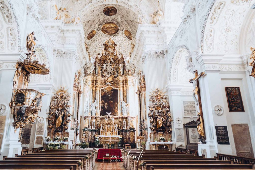 Heiraten im Kloster Holzen mit Hochzeitsfotograf München