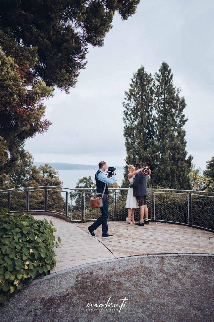 Hochzeitsvideograf München auf der Insel Mainau
