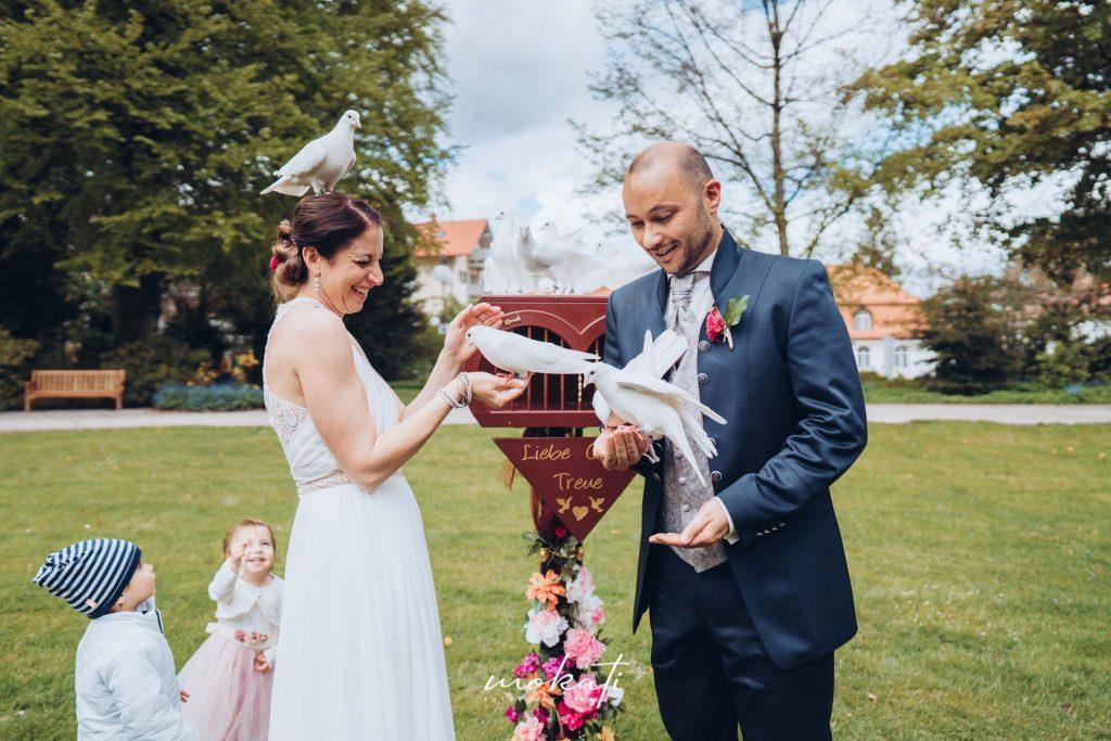 Hochzeitsfotograf Kurhaus Bad Tölz und Hochzeitsvideo