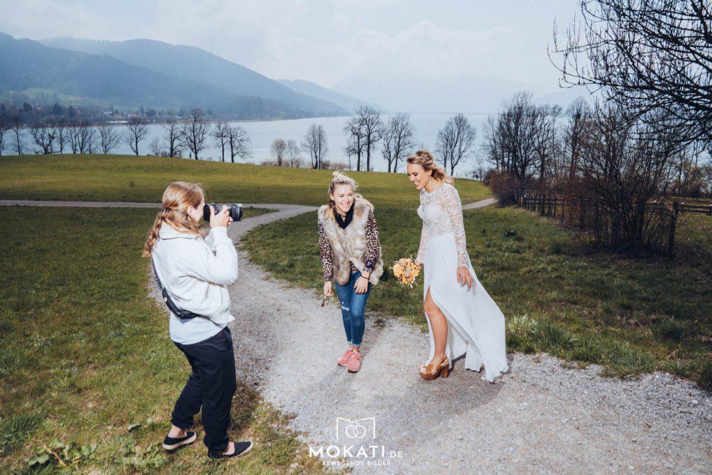 Styleshoot von Brautkleider von Freudentränen - Dein Brautladen im Gut Kaltenbrunn am Tegernsee