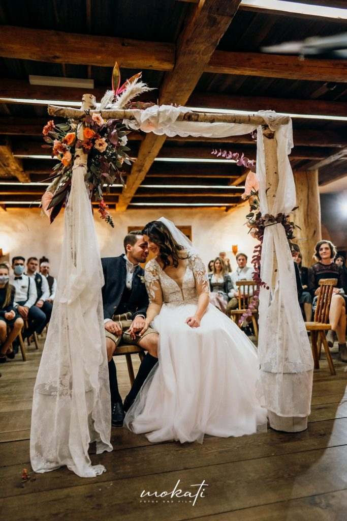 Hochzeitsfilm und Hochzeitsfotos Hasenöhrl Hof in Bayrischzell