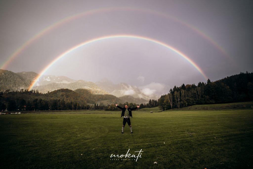 Regenbogen in Bayrischzell