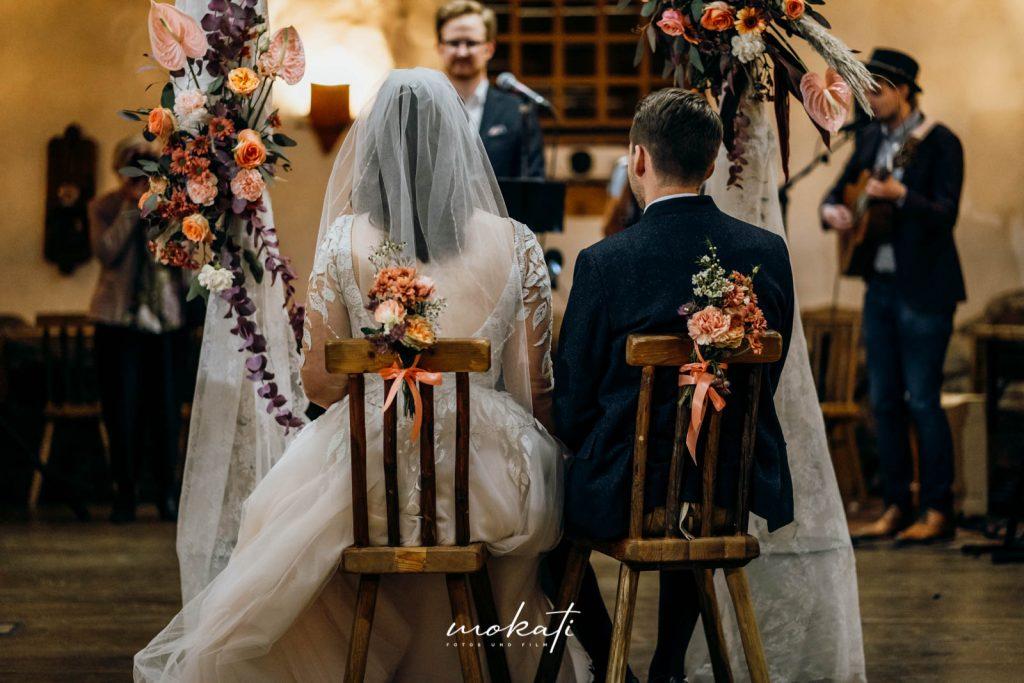 Hochzeitsfotos im Hasenöhrlhof in Bayrischzell mit Hochzeitsfotograf München