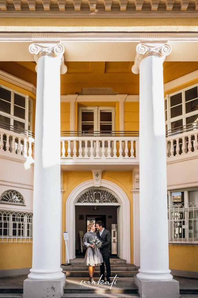 Heiraten in der Mandlstraße München mit Hochzeitsfotograf München