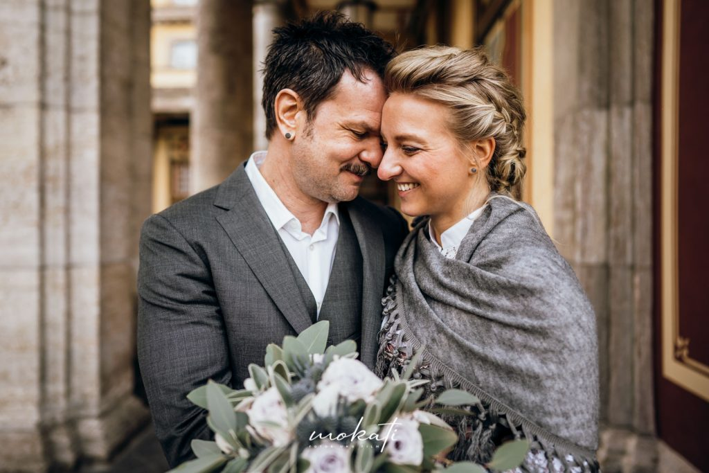 Heiraten in der Mandlstrasse mit Hochzeitsfotograf und Hochzeitsvideograf