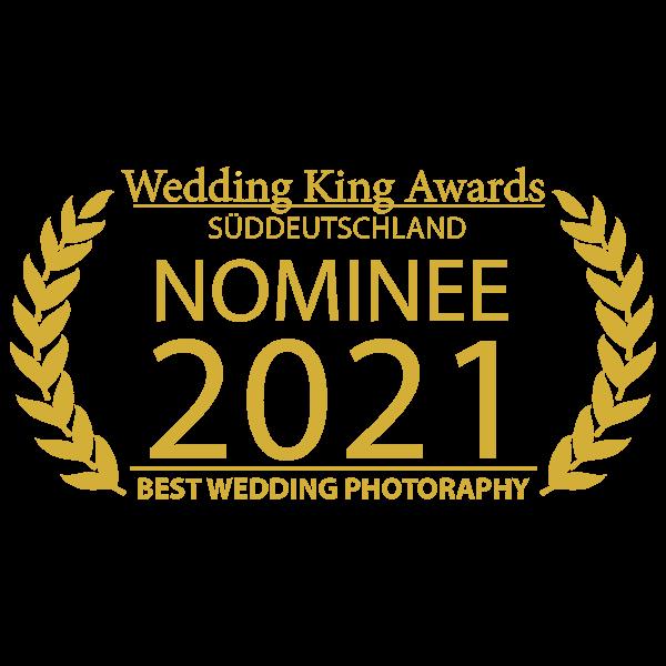 MOKATI wurde von Wedding-King-Award als bester Hochzeitsfotograf 2021 nominiert