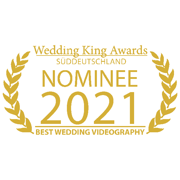 MOKATI wurde von Wedding-King-Award als bester Hochzeitsvideograf 2021 nominiert