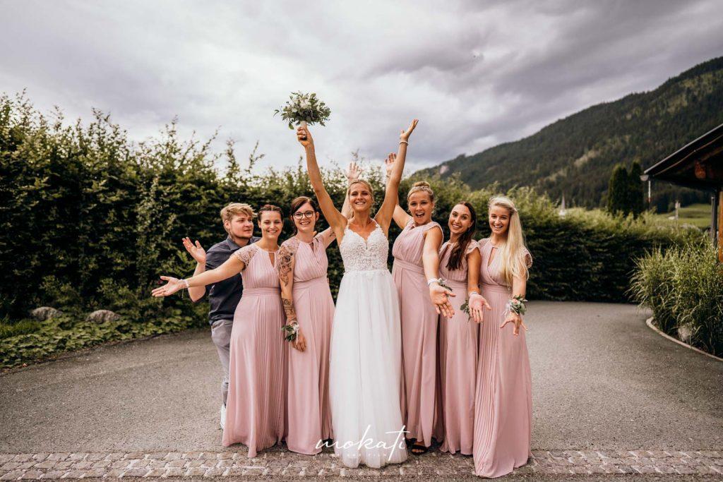 Gruppenfotos Hochzeitsfotograf München