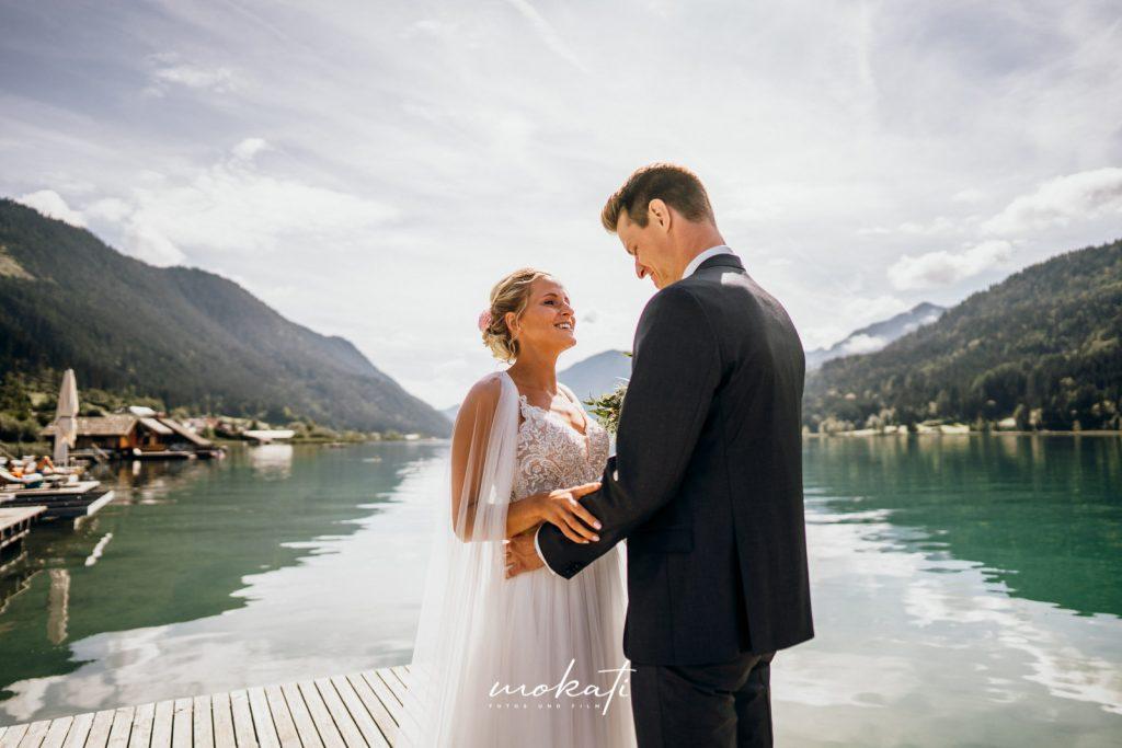 Hochzeitsfotograf München beim First Look