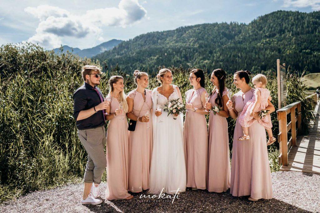 Hochzeitsfotograf München in Österreich