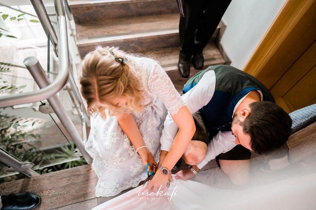 Hochzeitsfotograf Freising im Standesamt